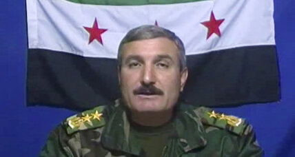 Hard times for Syria's rebels: top commander injured, PM rejected