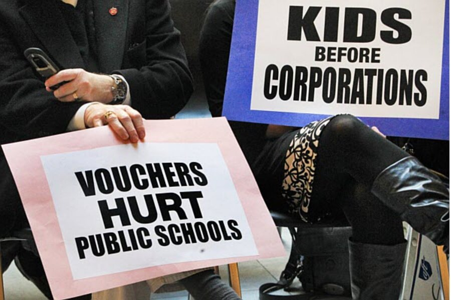 Indiana's expansive school voucher program upheld: A model for others?
