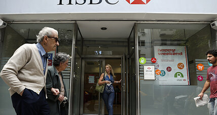 Argentina pushes to prosecute HSBC bankers for money laundering