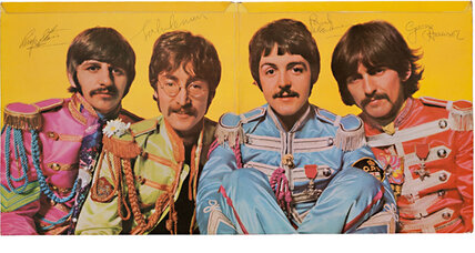 $290,500 album: Beatles record goes for big bucks at auction