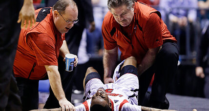 CBS broken leg replay: Did the network handle it right?