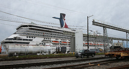 Carnival cruise ship secured following Alabama wind storm