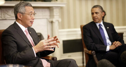 Singapore urges Obama to take stronger stand in Asia