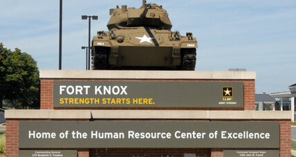 Fort Knox shooting leaves Army employee dead