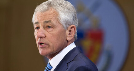 Hagel invokes Eisenhower as he signals era of austerity at Pentagon