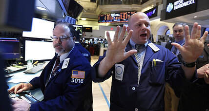 Stocks down on weak economic reports
