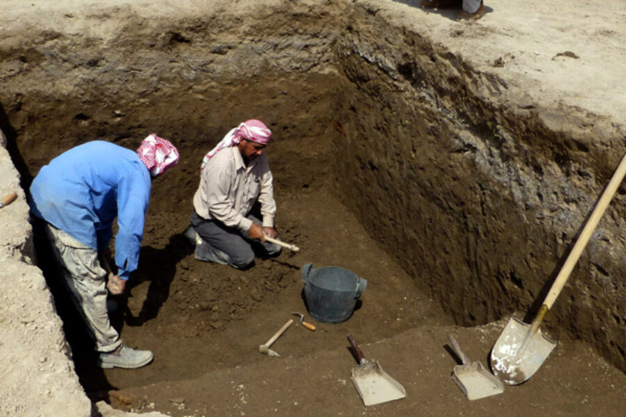 Home of Abraham, Ur, unearthed by archaeologists in Iraq