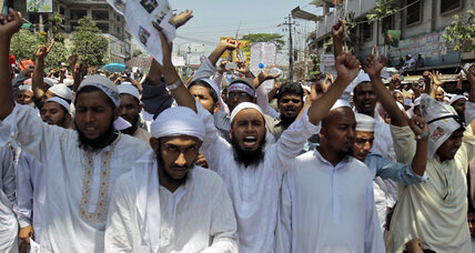 Bangladesh: Hardline Muslims rally in support of anti-blasphemy laws