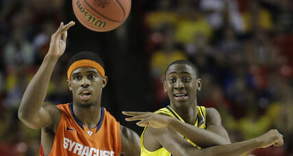 Michigan, solid all around, scorches Syracuse