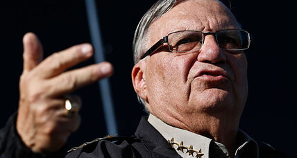 Package for Sheriff Joe Arpaio posed a serious threat, authorities say
