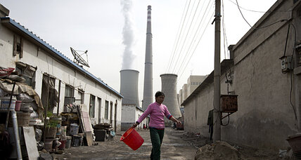 China temperature spikes linked to burning of fossil fuels