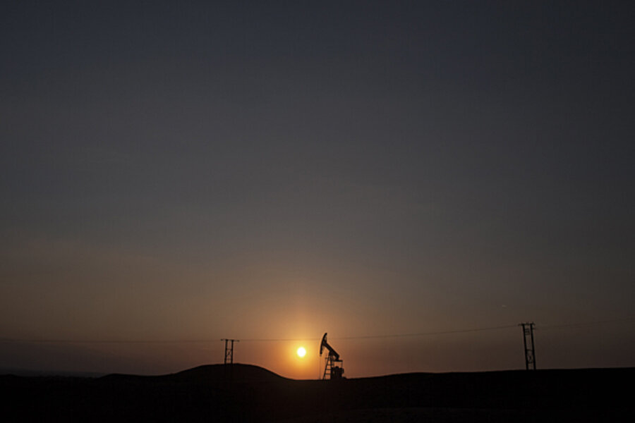 major oil fields