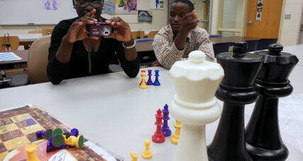 Uganda's 17-year-old chess prodigy travels across the board to Norfolk, Va.