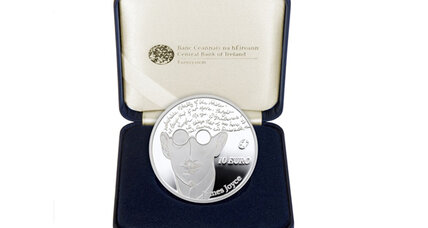 Irish bank forges in the smithy of its soul a botched James Joyce coin
