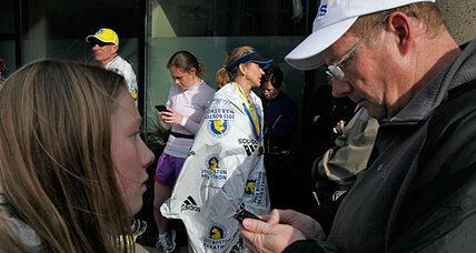 Boston Marathon: Poise, no TV key to helping kids cope, says pediatrician