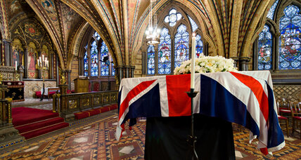 State funerals, ceremonial funerals, and Margaret Thatcher