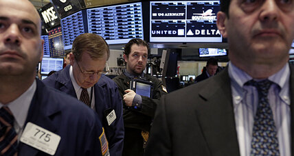 Stocks bounce back from worst day of year