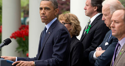 Senate's failure to pass meaningful gun control 'shameful,' Obama says (+video)