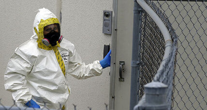 Suspect arrested in ricin-laced letters case