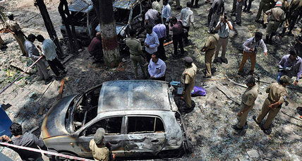 Bomb blast in southern India raises concern about rising terrorism in Bangalore