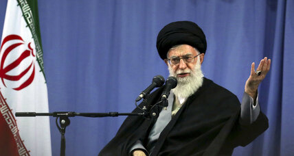 Iran's Khamenei condemns Boston Marathon attacks, but takes jab at US policies
