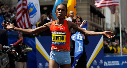 In Kenya, home of Boston Marathon winners, 'sports more powerful' than hate