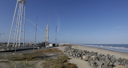 Orbital Sciences Antares test launch scrubbed after malfunction (+video)