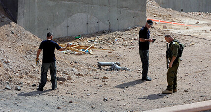 Rockets fired from Egypt slam into Israeli resort town