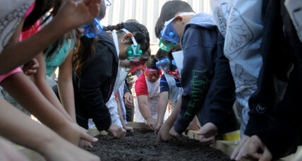 Learning gardens teach kids to love the outdoors