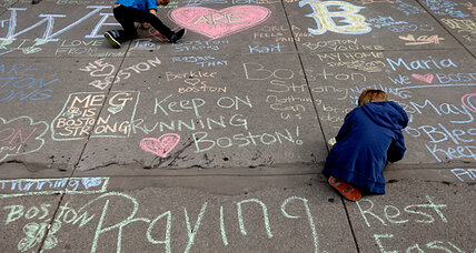 Boston Marathon bombings: tips for calming kids' fears after tragedies