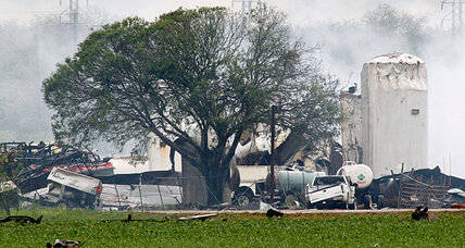 Texas fertilizer plant blast: Was it 'freak accident' that tore town apart?