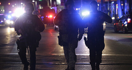 Boston bombing manhunt for suspect No. 2 prompts lockdown; No. 1 killed