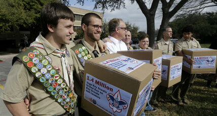 Boy Scouts proposal to allow gay youths draws fire from both sides