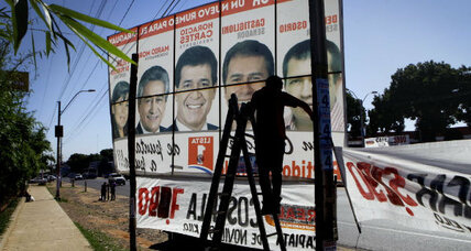 Will Paraguay's presidential election be a 'return to the past'?