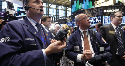 Stocks edge higher to end turbulent week