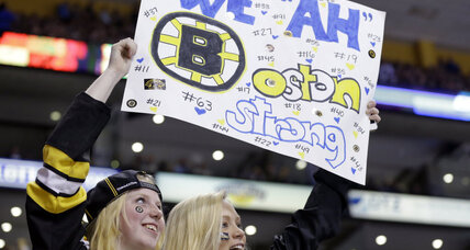 Boston bombings: Sox, Bruins get back to business