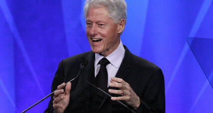 Bill Clinton honored at GLADD Awards