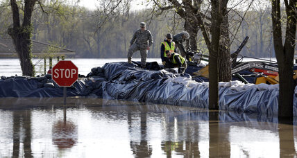 Midwest sees record floods, road closures, runaway barges, and evacuations