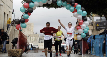 First West Bank marathon highlights barriers to Palestinian movement