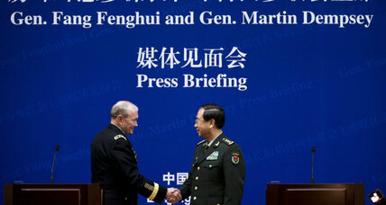 In US-China talks on cyber conflict, a top Chinese general owns to dangers