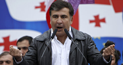 Saakashvili's party seeks relevancy in the Georgia it created