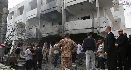 Explosion at French Embassy in Libya highlights security challenges (+video)