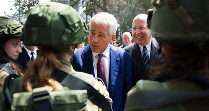 Hagel goes to Israel bearing gifts of radar and Ospreys