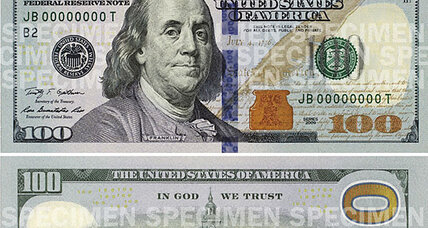 New $100 bill on the way in October