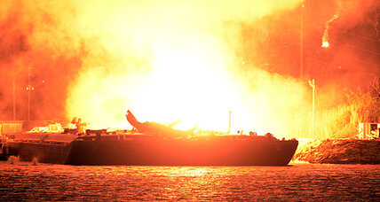 Fuel barge explosions underscore risks of fuel transportation