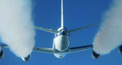 Green flights? NASA explores biofuel use in planes.