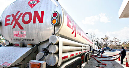 Exxon Mobil earnings up despite drop in oil, gas production