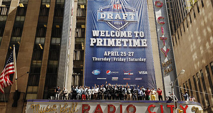 NFL draft 2013: Without the quarterbacks, will fans tune in? (+video)