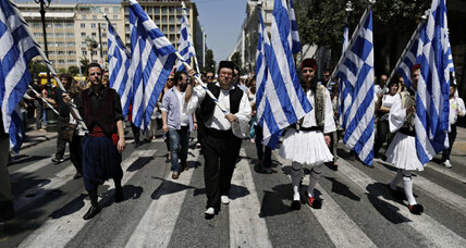 Greece starts firing civil servants for first time in a century