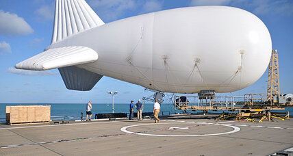 Can a blimp curb drug trafficking in Latin America? The US hopes so.